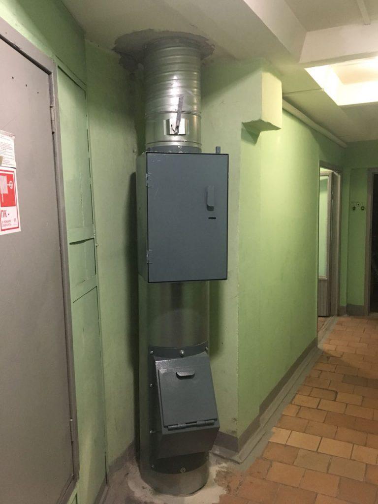 Оборудование на объектах ООО Чистый Град