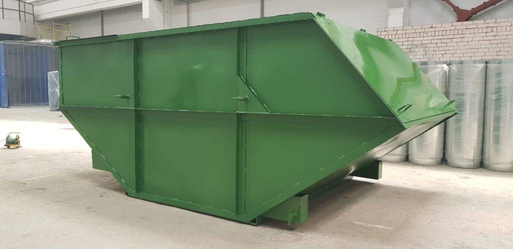 Производим также все виды бункеров-накопителей для сбора твердых бытовых отходов и их перевозки