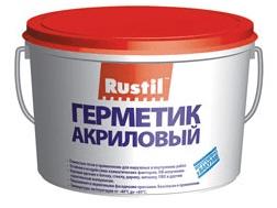 """Герметизирующая мастика """"Рустил-акрил"""", 15 кг"""