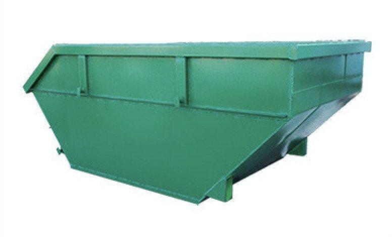Контейнер металлический 8 м.куб. для твердых коммунальных отходов (ТКО)
